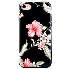 For Apple iPhone7 7 Plus 6s 6 Plus Case Cover Flower Pattern HD Painted IMD Process Thicker TPU Material Phone Case