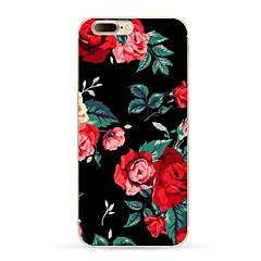 Per Fantasia/disegno Custodia Custodia posteriore Custodia Fiore decorativo Morbido TPU per AppleiPhone 7 Plus iPhone 7 iPhone 6s Plus