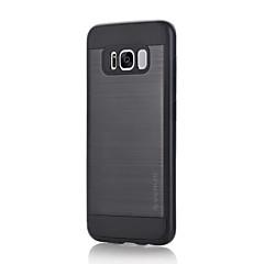 Varten Iskunkestävä Other Etui Takakuori Etui Yksivärinen Kova PC varten Samsung S8 S8 Plus S7 edge S7 S6 edge plus S6 edge S6