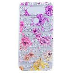 Για Διαφανής Με σχέδια tok Πίσω Κάλυμμα tok Γραμμές / Κύματα Λουλούδι Μαλακή TPU για LGLG K10 LG K8 LG K7 LG G6 LG Nexus 5Χ LG V20 LG X