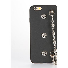 Mert DIY Case Hátlap Case Punk Kemény Műbőr mert Apple iPhone 7 Plus iPhone 7 iPhone 6s Plus iPhone 6 Plus iPhone 6s iPhone 6