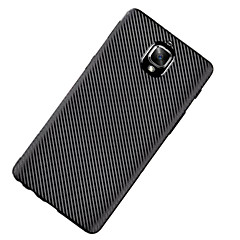 Voor Ultradun hoesje Achterkantje hoesje Effen kleur Zacht TPU voor OnePlus One Plus 3 One Plus 3T