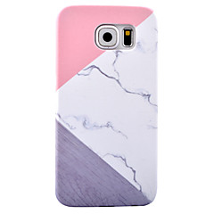 For Mønster Etui Bagcover Etui Marmor Hårdt PC for Samsung S8 S8 Plus S7 edge S7 S6 edge S6