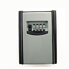 Metal dekorasyon anahtar kutusu şifre kilidi duvara monte milyon şifre saklama kutusu