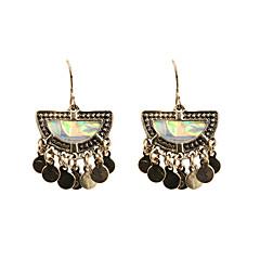 Fashion Women Lamellule   Alloy Drop Earrings