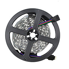 72W   RGB Strip Lights lm DC12 AC 12 5 m 150 leds Warm White White RGB Red Yellow Blue Green Pink