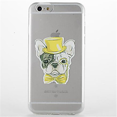 For Transparent Pattern Case Back Cover Case Cartoon Soft TPU For Apple iPhone 7 PLUS 6s 6 Plus SE 5s 5 5C 4 4S
