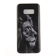 For IMD Mønster Etui Bagcover Etui Dyr Blødt TPU for Samsung S8 S8 Plus S7 edge S7 S6 edge S6