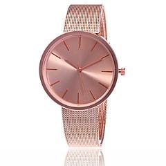 Dames Dress horloge Modieus horloge Japans Kwarts Legering Band Bedeltjes Vrijetijdsschoenen Elegante horloges minimalistische Zilver