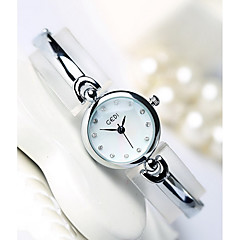 Women's Fashion Watch Quartz Water Resistant / Water Proof Alloy Band Casual Luxury Cool Silver