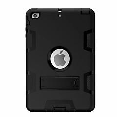 Για Ανθεκτική σε πτώσεις με βάση στήριξης Περιστροφή 360° tok Πλήρης κάλυψη tok Γεωμετρικά σχήματα Σκληρή PC για AppleiPad Mini 4 iPad