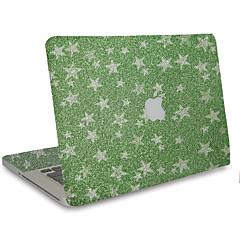 1 stk Motstår Risser 3D Gjennomsiktig plast Klistremerke Glimtende Glitter Mønster TilMacBook Pro 15'' med Retina MacBook Pro 15 ''