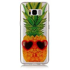 Για IMD Διαφανής Με σχέδια tok Πίσω Κάλυμμα tok Φρούτα Μαλακή TPU για Samsung S8 S8 Plus S7 edge S7 S6 edge S6 S5
