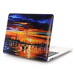 MacBook Etui for Olie Maleri PVC Materiale
