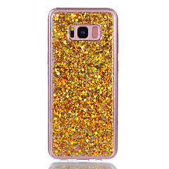 Til samsung galaxy s8 plus s8 cover dækslet støvtæt bagside cover glitter shine blød akryl til Samsung Galaxy S7 kant s7 s6 kant s6 s5