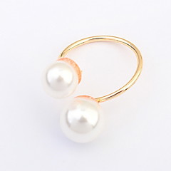 Ring Jewelry Euramerican Fashion Pearl Alloy Jewelry Jewelry For Wedding Party Special Occasion 1 pcs