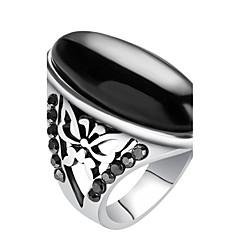 Statement-ringe Ring Unikt design Mode Vintage Personaliseret Euro-Amerikansk luksus smykker Statement-smykker Harpiks LegeringRund form