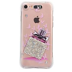 Til Apple iPhone 7 7 plus 6s 6 plus case cover parfume flaske mønster diamant drop kommer med call flash tpu materiale telefon taske