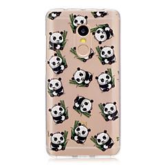 Voor xiaomi redmi note 4 note 3 3s case cover panda patroon back cover soft tpu redmi note