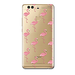 For Etuier Ultratyndt Mønster Bagcover Etui Flamingo Blødt TPU for HuaweiHuawei P10 Plus Huawei P10 Huawei P9 Huawei P9 Lite Huawei P9