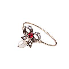 Dame Armbånd Mode Legering Butterfly Form Smykker Til Halloween Julegaver