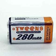 Nikkel metalhydrid batteri 9v