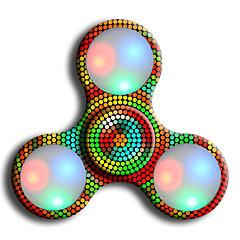Σβούρες πολλαπλών κινήσεων χέρι Spinner Παιχνίδια Ring Spinner LED Spinner ABS EDCΣτρες και το άγχος Αρωγής Γραφείο Γραφείο Παιχνίδια για