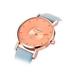 Dames Modieus horloge Kwarts PU Band Zwart Wit Blauw Roze