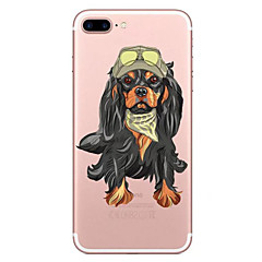 For Apple iPhone 7 7 Plus 6S 6 Plus Case Cover Dog Pattern Painted High Penetration TPU Material Soft Case Phone Case