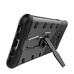 Samsung Galaxy S8 ja S7 tapauksessa kattaa iskunkestävä jalustalla 360 kierto takakansi yksivärinen kovaa pc S7 reuna S8 S6 reuna plus s6