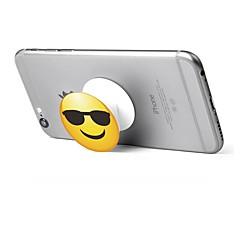 Telefonholderstativ Skrivebord 360° Rotation Justerbar Stander Polykarbonat for Mobiltelefon