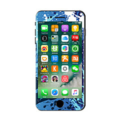 For iPhone 7 Plus Blue Graffiti Color Before And After The Whole Stickers Light in The Dark for iPhone 6 6S Plus SE/5s/5/5 /4/4s