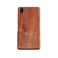 cornmi Sony Xperia z3 rózsafa diófa kemény fából készült hátsó fedélcsésze