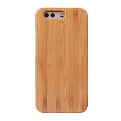 Cornmi til huawei p10 plus p10 tilfælde dække bambus træ hårdt bag cover tilfælde træ shell hus