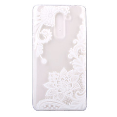 For Ultratyndt Transparent Mønster Etui Bagcover Etui blondedesign Blødt TPU for Huawei Huawei P8 Lite (2017) Huawei Honor 6X