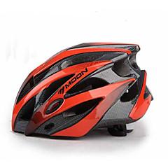 MOON Unisex Bisiklet Kask 25 Delikler Bisiklet Dağ Bisikletçiliği Yol Bisikletçiliği Bisiklete biniciliği L: 58-61CM M: 55-58CM PC EPS
