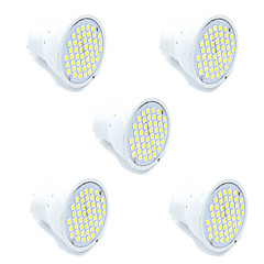 5pcs Led SMD2835 48Led MR16 GU10 LED Spotlight  Warm/Cool White Spotlight lampada Led Lamp AC220-240V