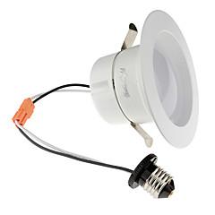 youoklight 1db E26 / E27 10-12w 950lm ac110-130v 24 * 5730 SMD meleg fehér / hideg fehér LED szabályozható mélysugárzó mennyezeti lámpa