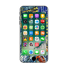 For iPhone 7 Plus The Cartoon City Color Before And After The Whole Stickers Light in The Dark for iPhone 6 6S Plus SE/5s/5/5 /4/4s
