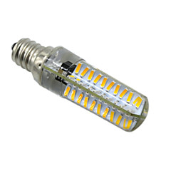 5W E14 E12 E17 BA15D LED à Double Broches T 80 SMD 4014 400-500 lm Blanc Chaud Blanc Froid Gradable AC 100-240 V 1 pièce