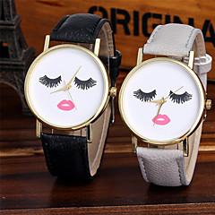 Γυναικεία Μοδάτο Ρολόι Ρολόι Καρπού Μοναδικό Creative ρολόι Καθημερινό Ρολόι Κινέζικα Χαλαζίας Πολύχρωμα / Δέρμα ΜπάνταΛάμψη Απίθανο