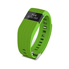 Je jw86 / tw64s mannenvrouw slimme armband / smarwatch / hartslagmonitor sm wristband slaapmonitor kleurenscherm voor iOS Android-telefoon