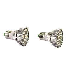 7W E14 GU10 E27 LED-kasvivalo 40 SMD 5730 800-1200 lm Lämmin valkoinen Valkoinen Punainen Sininen V 2 kpl