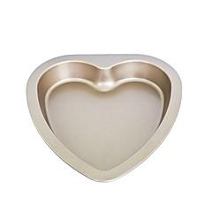 bakvorm Hart voor Cake voor Cookie voor Cupcake MetaalDoe-het-zelf Hoge kwaliteit Anti-aanbak Kerstmis Halloween Bruiloft Verjaardag