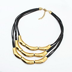 Women's Layered Necklaces Jewelry Jewelry Alloy Fashion Personalized Euramerican Jewelry For Party Special Occasion Gift