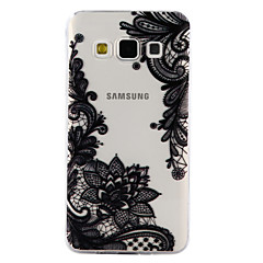 Til Samsung Galaxy A3 A5 (2017) Cover cover blonde print mønster drop lim lak høj kvalitet tpu materiale telefon etui a3 a5
