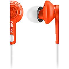 För mobiltelefon mobiltelefon dator sport fitness in-ear kabelförsedd plast 3,5 mm buller-avbrytande