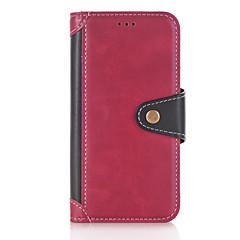 Huawei P10 plusz p10 lite esetben fedezi a flip-kártya tartóját állvánnyal pu bőr esetekben Huawei P9 lite P8 lite (2017)