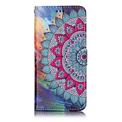 Voor Samsung Galaxy S8 plus s8 telefoon hoesje Mandala patroon lakproces pu leer materiaal telefoon hoesje s7 rand s7 s6 rand s6