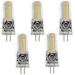 3W Luminárias de LED  Duplo-Pin T 18 SMD 3014 260 lm Branco Quente Branco Frio V 5 pçs